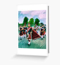 The Sauchie Gala  Greeting Card