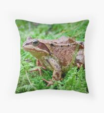 Hoppy Throw Pillow