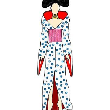 Geisha by notsniwart