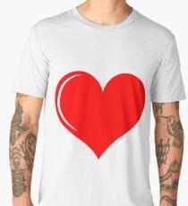 Heart Love Men's Premium T-Shirt