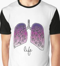 Life in lungs Graphic T-Shirt