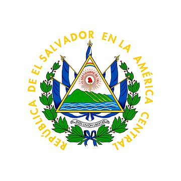 Coat of arms of El Salvador by fourretout