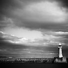 Harbour light by clickinhistory