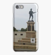 'We Shall Remember Them'! Anzac Memorial, 'Mannum'.  iPhone Case/Skin
