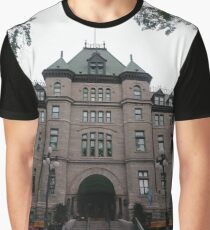 Quebec City, #QuebecCity, #Quebec, #City, #Canada, #buildings, #streets, #places, #views, #nature, #people, #tourists Graphic T-Shirt