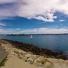 Optimist Yacht - Perfume Point, Napier, Neuseeland von CleverCharles