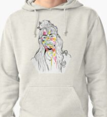 stains on skin Pullover Hoodie