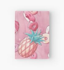 Donuts and pineapples Hardcover Journal