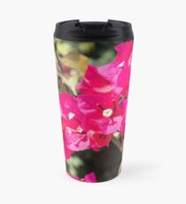 greek bouganvillea Travel Mug