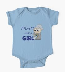 Fight Like a Girl One Piece - Short Sleeve