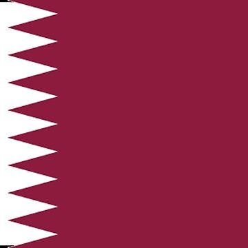 Qatar - National Flag - Current by CrankyOldDude