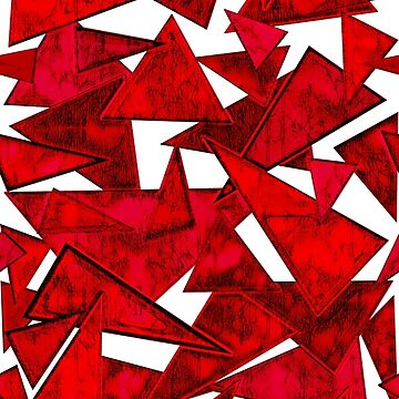 Red triangles by FEDVAL