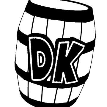 DK Barrel by TheKalebFishStore
