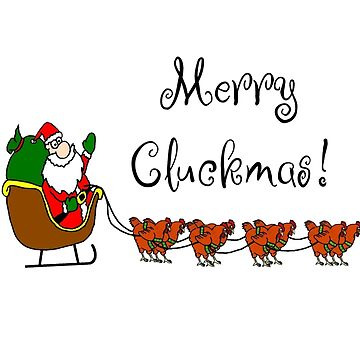 Merry Cluckmas! by imphavok