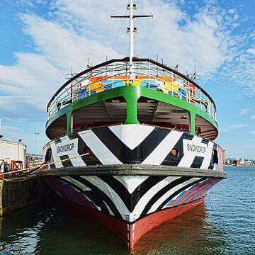 Dazzle Ferry Boat: Snowdrop by Retiree