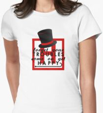 House M.D. - Get Happy  Womens Fitted T-Shirt