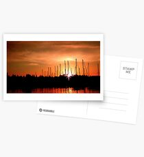 Sunset in Olympia Postkarten