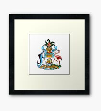 Coat of arms of the Bahamas Framed Print