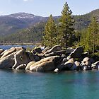 Tahoe Morning - Lake Tahoe, CA & NV by Rebel Kreklow