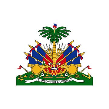 Coat of arms of Haiti by fourretout