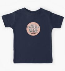 God is within her, She will not fall (Psalm 46:5) Kids Tee