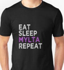 Eat Sleep Mylta Repeat Unisex T-Shirt