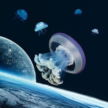 Space jellyfish by ValentinaHramov