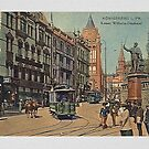 Königsberg in Preussen...street scene 1895 by edsimoneit