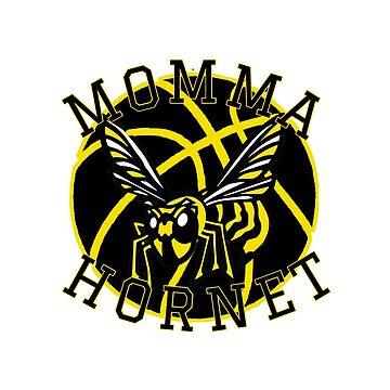 Momma Hornet - Basketball by TeesandTeas