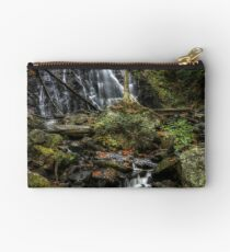 Crabtree Falls In Autumn Off The Blue Ridge Parkway Studio Pouch