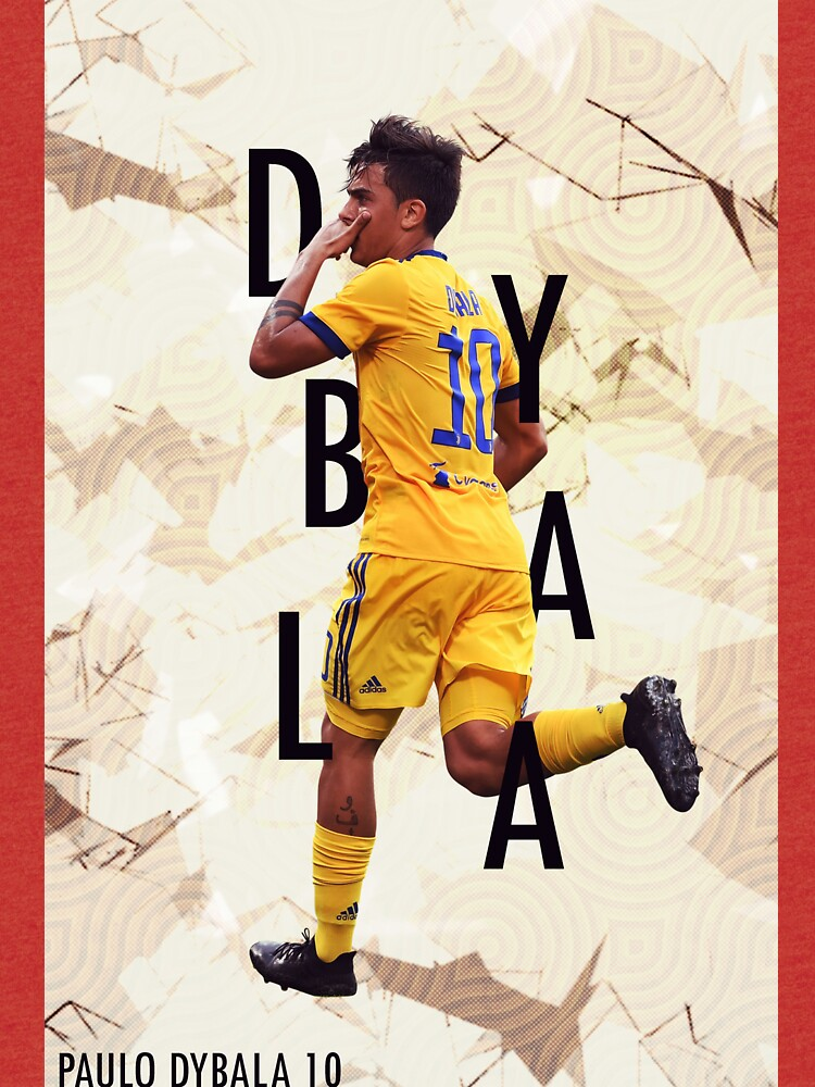 sports shoes 1cac4 7821f Paulo Dybala poster | Tri-blend T-Shirt
