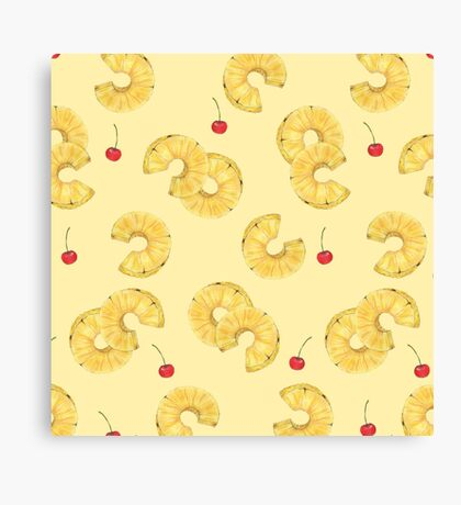 pine and cherry Canvas Print