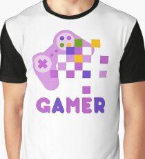 Gamer T-shirt Graphic T-Shirt