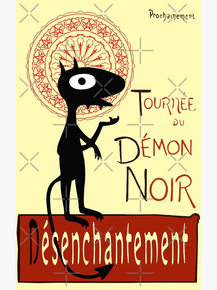 Tournee du Dämon Noir von LordNeckbeard