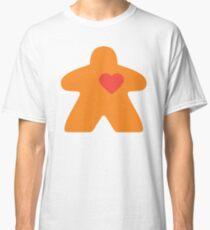 Meeple Love - orange Classic T-Shirt