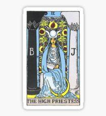 High Priestess Tarot Sticker