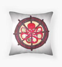 Hail Hydra Logo Throw Pillow
