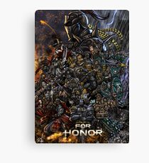 For Honor Canvas Print