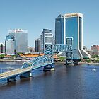 Blue Skies Over Jacksonville, Florida by Kay Brewer