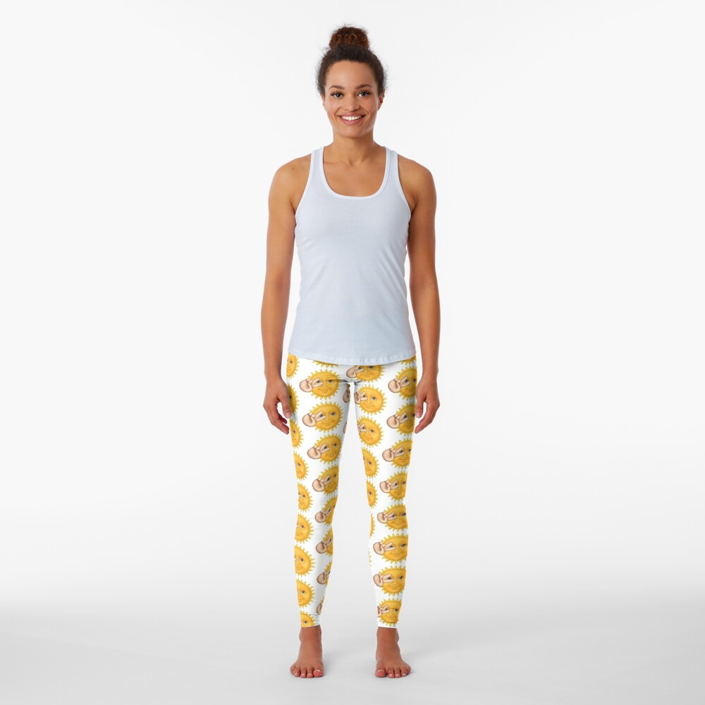 Sun Emoji Leggings