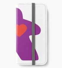 Meeple Love - purple iPhone Wallet/Case/Skin