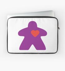 Meeple Love - purple Laptop Sleeve