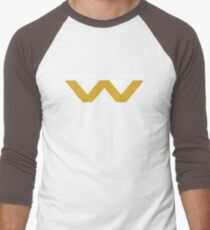 The Weyland-Yutani Corporation Logo Men's Baseball ¾ T-Shirt