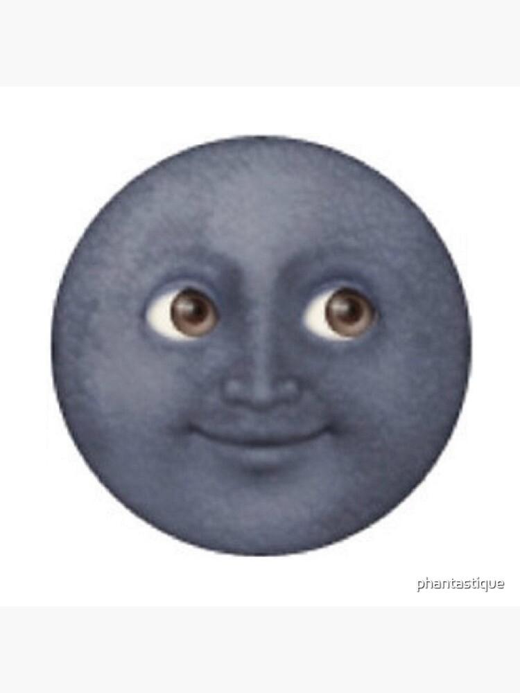 Moon Emoji de phantastique