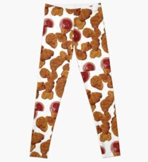 Chicken Nuggets Leggings