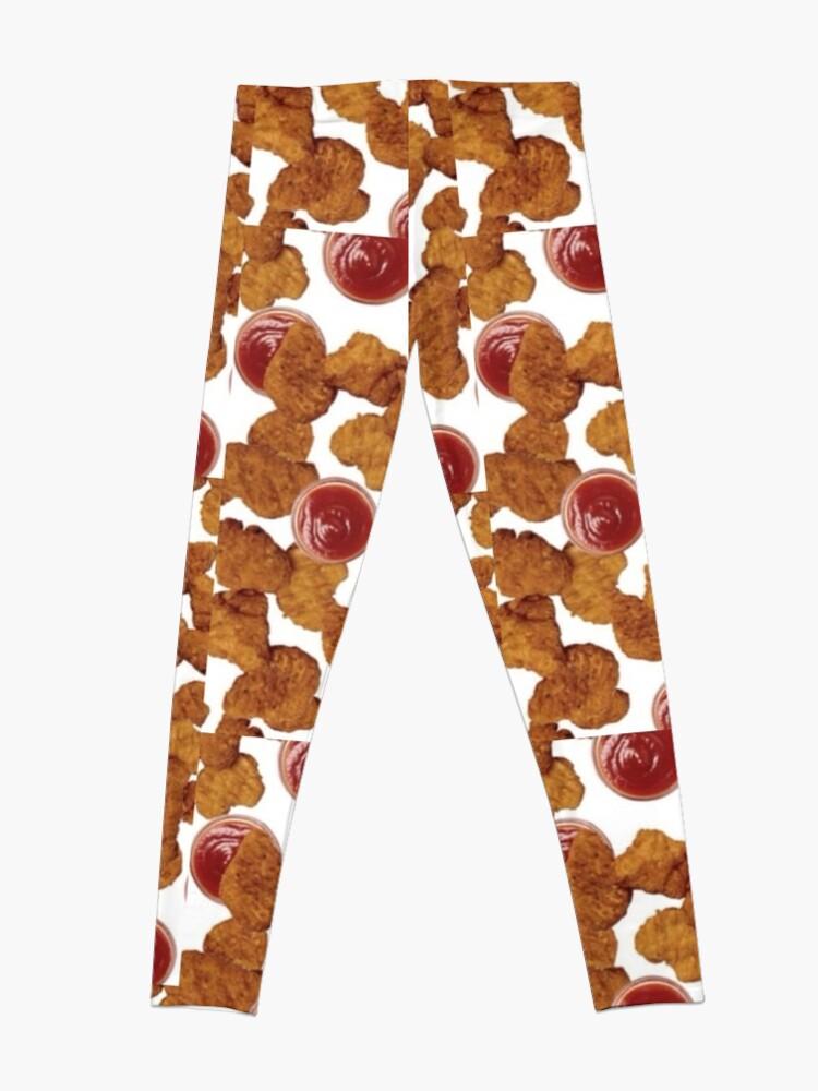 Alternate view of Chicken Nuggets Leggings