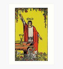 The Magician Tarot Art Print