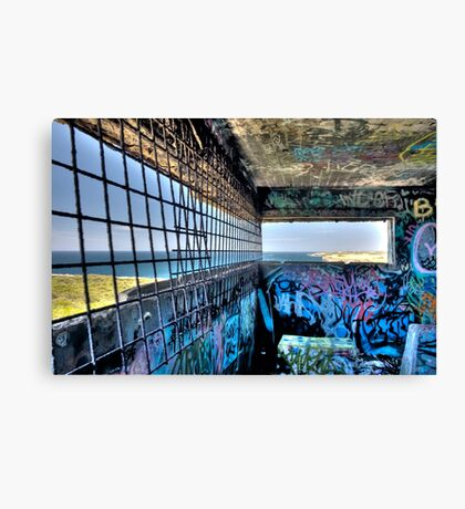 Grate Full View Two Canvas Print