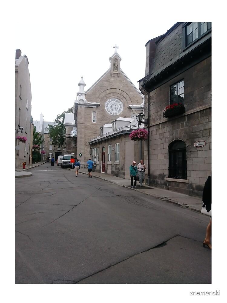 Quebec City, #QuebecCity, #Quebec, #City, #Canada, #buildings, #streets, #places, #views, #nature, #people, #tourists by znamenski