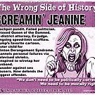 Screamin' Jeanine by marlowinc